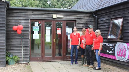 Staff at the Catch 22 Fishing Centre in Lyng will support the British Heart Foundation throughout 20