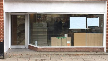 Shop fitters are making progress on the WHSmith shop on the High Street. Picture: Archant