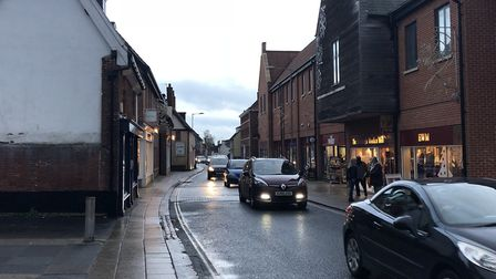 Dereham residents will have the opportunity to discuss road issues in Dereham. Picture: Archant