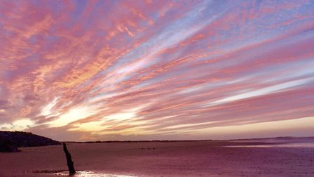 Sunset at Brancaster. Picture: Jackie Moore