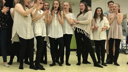 Dance group Sparks taking part in Neatherd's Got Talent. Picture: Marion Broughton