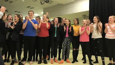 Dance group Ignite taking part in Neatherd's Got Talent. Picture: Marion Broughton