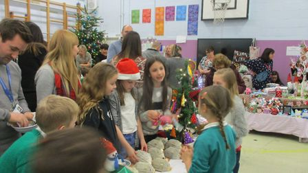 Mattishall Primary School held a Christmas bazaar. Picture: Claire Findlay