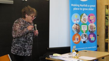 Lisa Breame, from the NSFT. Photo: Age UK Norfolk