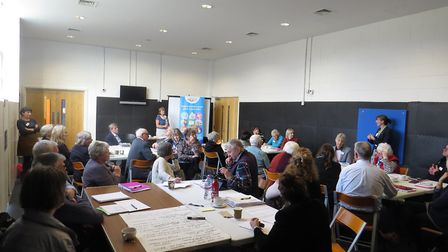A group shot from the Age UK Norfolk event in Dereham. Photo: Age UK Norfolk