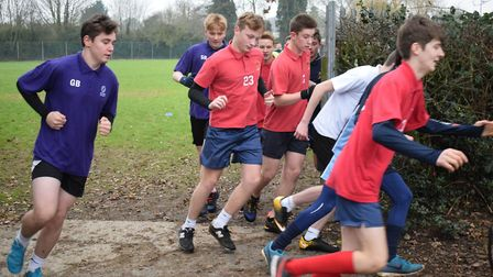 More than 120 pupils competed in the cross country trials held at Neatherd High School. Picture: Nea