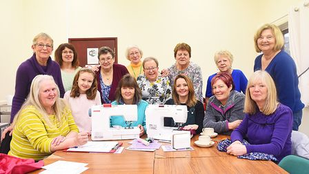 The new Dereham Sewing Club will be making clothes for charity. Picture: Ian Burt