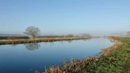 A peaceful and tranquil morning at Ebridge mill North Walsham and Dilham canal Photo: Malcolm Ducker