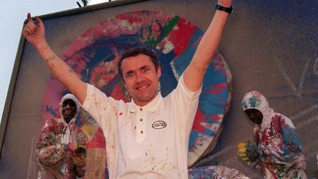 Artist Damien Hirst. Picture: Tony Harris/ PA.