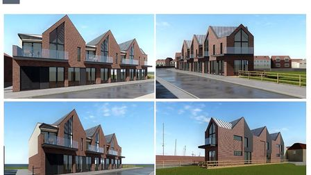 NNDC Concept For Beach Road Site. Picture: CPMG Architects