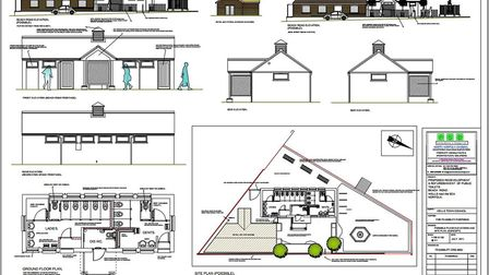 Alternate concept for Beach Road site tabled by Wells Town Council Working Party. Picture: Wells Tow