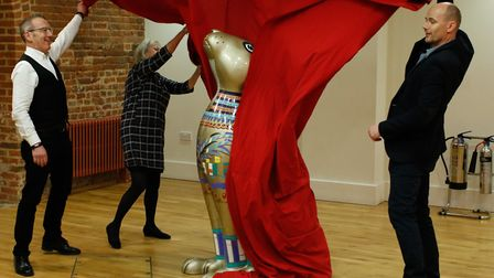 The chosen sculpture, designed and created by Sophie Green, is part of this years GoGoHare trail and