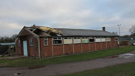 Lyng Village Hall has been demolished to make way for a new modern community facility. Earlier high
