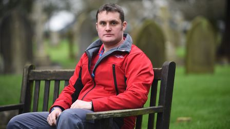 Royal British Legion member and ex-soldier Liam Young is researching into the men behind the names o