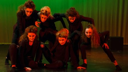Jeckyll and Hyde played by the Dereham Neatherd High School. Picture: Jon London Photography
