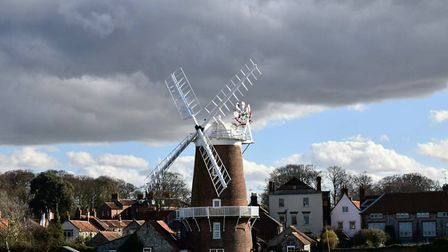 A sunny and windy trip to the beautiful Cley Windmill Photo: Maria Bilton