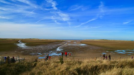 Holkham beach - the jewel in Norfolks crown Photo: Lydia Taylor