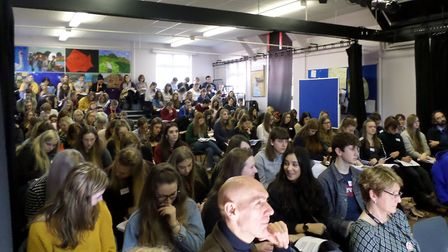 Psychology conference at Dereham Sixth Form. Picture: DEREHAM SIXTH FORM