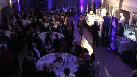 The charity dinner raised £5,000 for charity. Picture: Ed Colman