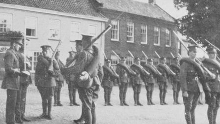 Fife and Forfar Yeomanry in Fakenham. Picture: St Andrew's/Ryburgh Remembers