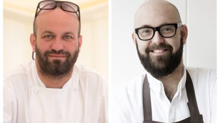 Charlie Hodson, left, and Richard Bainbridge will judge a bake-off contest at The Fox at Lyng.Pictur