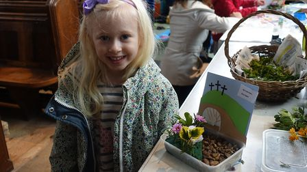 St Nicholas Dereham celebrated Easter with the latest Messy Church session. Pictures: Evelyn Speed