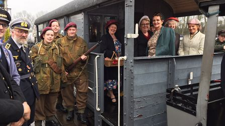 Reepham and Whitwell Station 1940s weekend. Pictures: Supplied by Nanette Parfitt