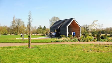 The official opening of the new Dereham Cemetery. Picture: Ian Burt