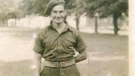 Arthur Brough in uniform before going to France. Picture: Submitted
