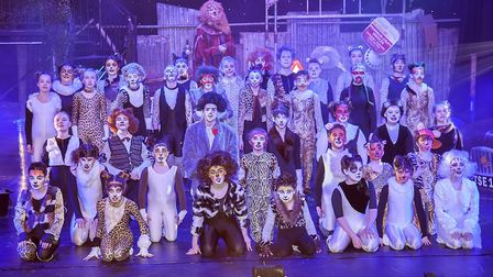 Dereham Theatre Company's youth division (DOSYTco) brought Andrew Lloyd-Webber's classic Cats to the