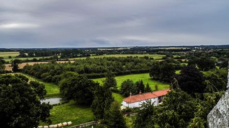 View from North Elmham church tower. Picture: CHARLOTTE FRIOR