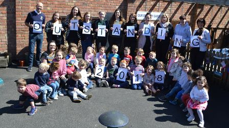 Little Owls Day Nursery in Toftwood, Dereham, receives outstanding rating from Ofsted. Picture: WATT