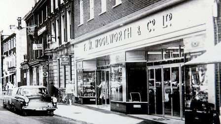The Dereham Woolworths store in the late 1960s. Photo: Archant Library