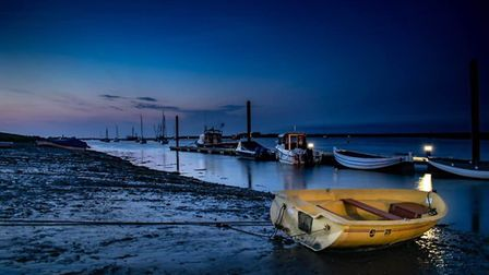 A trip to wells-next-the-sea to capture some of the sunset and practice some astrophotography. Photo