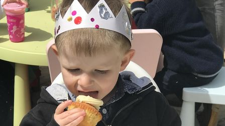 Chicken Cottage Childcare, in Bawdeswell, are celebrating the Royal Wedding with a party. Picture: N