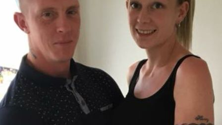 Sam Bishop and Dale Appleby are getting married on the same day as the Royal Wedding. Picture: TRACE