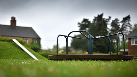 Swannington play area in need of updating.Picture: ANTONY KELLY