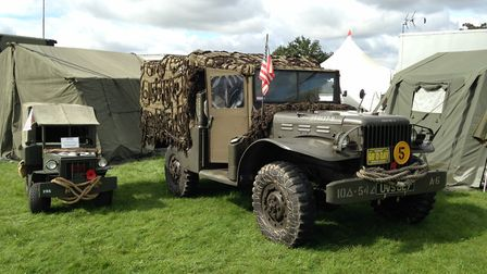 Norfolk Military Vehicle Group. Picture: Taz Ali