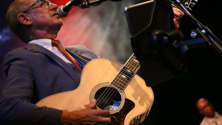 Andy Fairweather Low performing at the 2017 Dereham Blues Festival. Picture: Doreen Aitken.