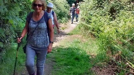 Dereham Walkers are Welcome are celebrating their second anniversary. Photo: Walkers are Welcome