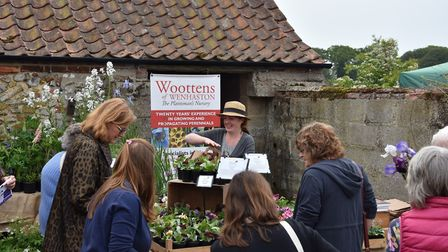 Record numbers of visitors attended Creake Abbey's plant day. Photo: Creake Abbey