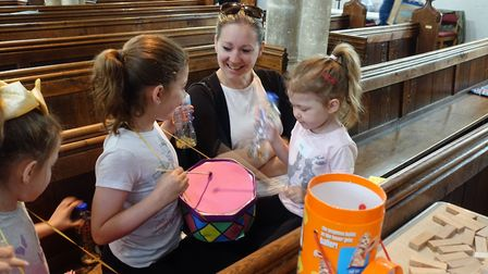 Messy Church is a group aiming to get more people involved in the church. Photo: Messy Church