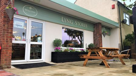 The new look Lyng Stores after its refurbishment. Photo: Lyng Stores