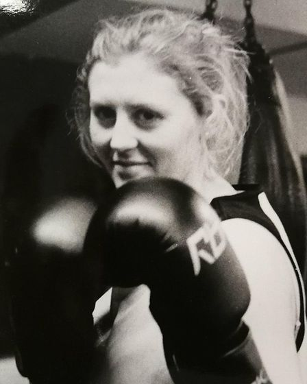 Dereham Boxing Club. Pictured is one of Dereham Boxing Club's greatest boxers and the first female t