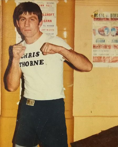 Dereham Boxing Club. Pictured is one of Dereham Boxing Club's greatest boxers and the town's former