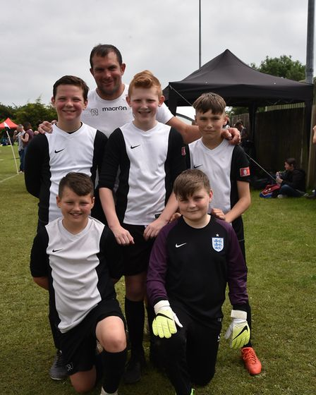 Some of the teams taking part in Sunday's leg of The Aldiss Park Cup.SalhouseByline: Sonya DuncanCop