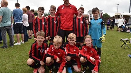 Some of the teams taking part in Sunday's leg of The Aldiss Park Cup.Swanton Morely BlacksByline: So
