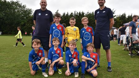 Some of the teams taking part in Sunday's leg of The Aldiss Park Cup. Taverham Tigers Byline: Sonya