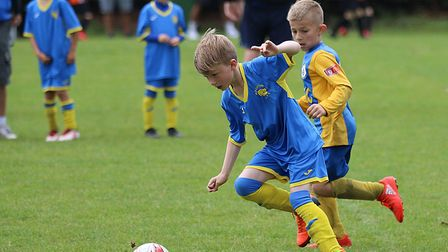 Action from the Aldiss Cup tournament inFakenham. Picture: Alan Palmer