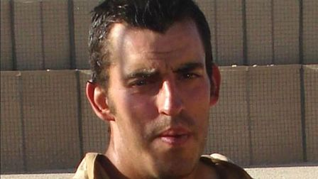 L/Cpl Nigel Moffett, of the Light Dragoons, who was killed in Afghanistan.For: Ian Clarke